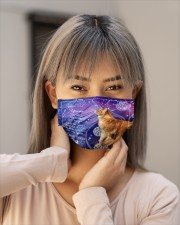 Th 7 Dandelion i am your maine coon Cloth face mask aos-face-mask-lifestyle-18