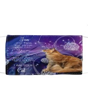 Th 7 Dandelion i am your maine coon Cloth face mask front