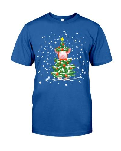 Pig christmas tree