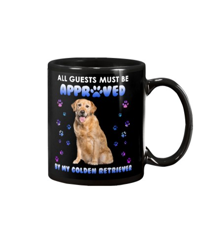 All guests must be approved by my Golden