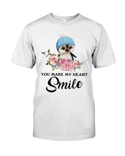 Penguins smile