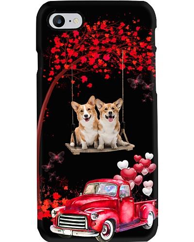 Corgi red love world with btfl pink