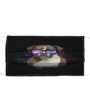 TH 30 Boxer Galaxy Glasses Cloth face mask front