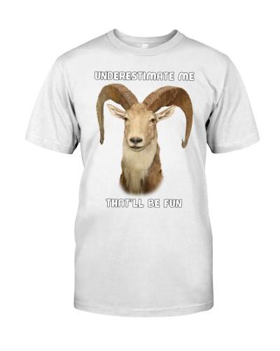 Goat Underestimate Me