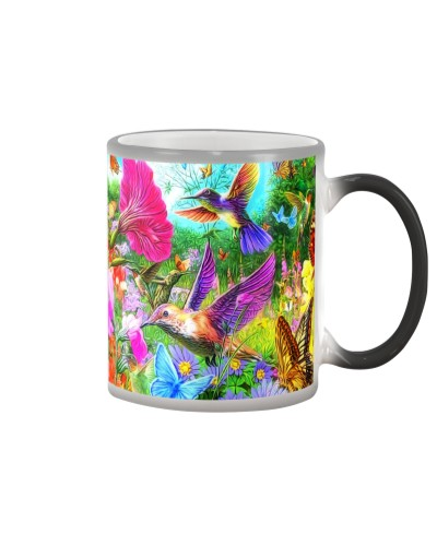 ln hummingbird color  forest