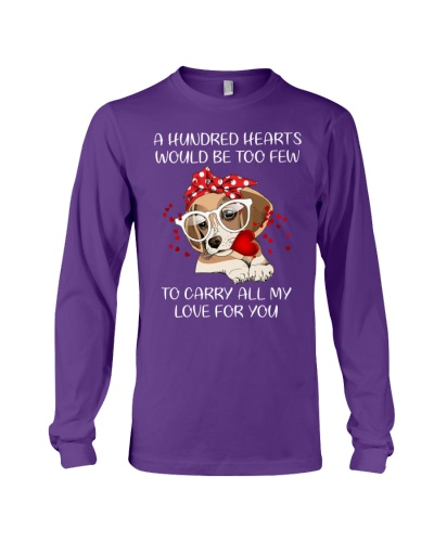 A hundred hearts would be too few Beagle