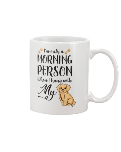 Morning Person Golden Retriever