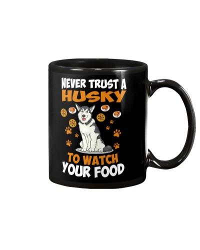 Siberian Husky never trust