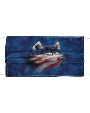 Th 2 siberian husky great pride Cloth face mask front