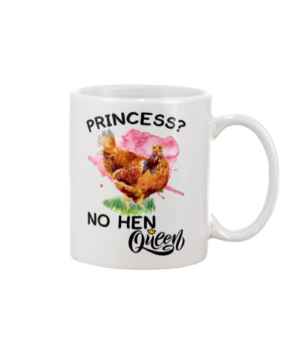 Chicken queen mug