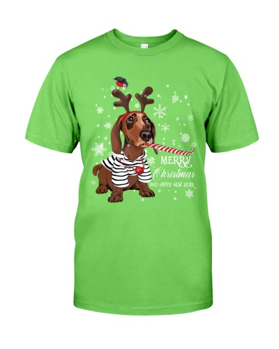 Dachshund the most beautiful christmas LMT
