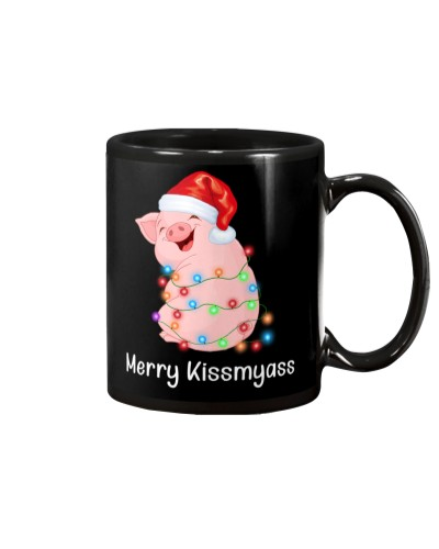 Merry and kisses Pig