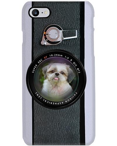 Shih Tzu In Camera Phone Case