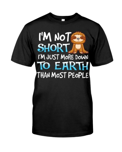 Sloth is not short shirt