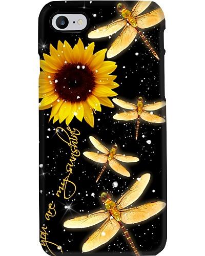 Drgonflies yr my sunshine phone case MG