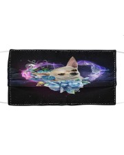 TH 32 Chihuahua Galaxy Heart Cloth face mask front