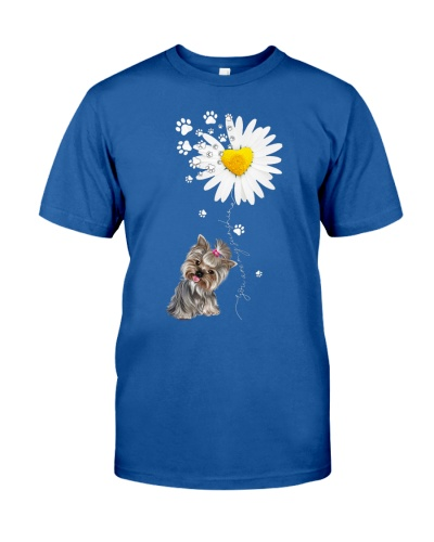 ln yorkshire terrier and daisy are my sunshine