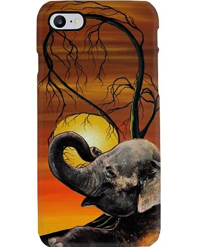 Elephant fall phone case