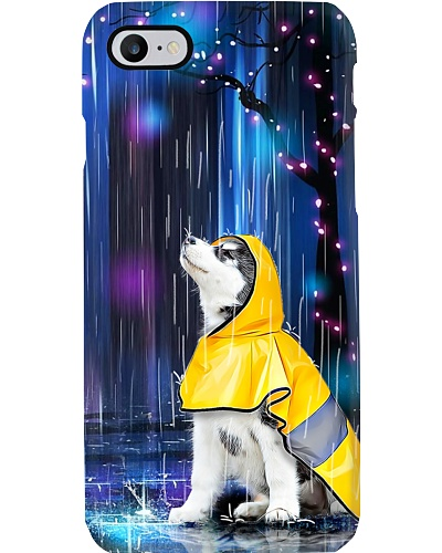 Siberian Husky Raincoat