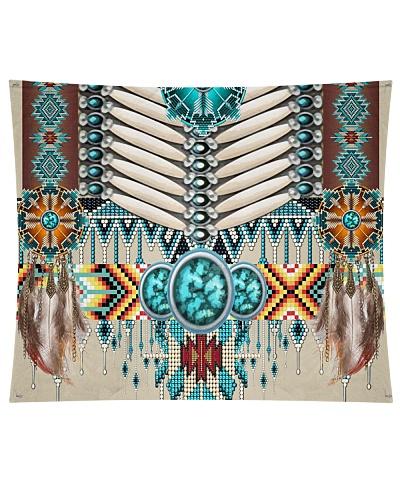 SHN 10 Native American pattern Wall Tapestry