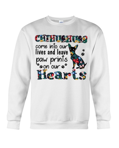 Ln chihuahua leaves paw prints on our heart