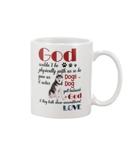 husky god mug