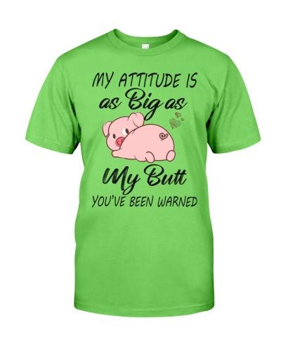 Pig attitude
