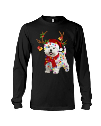 Westie  reindeer big sale