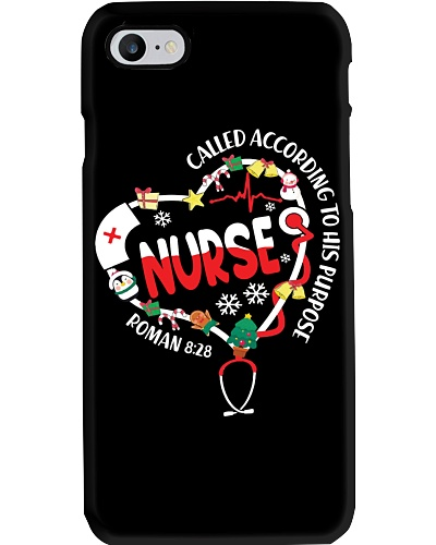 Qhn Called According To His Purpose Nurse Hoodie