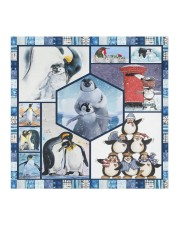 All About Penguins Cloth face mask aos-face-mask-coverlet-lifestyle-front-02