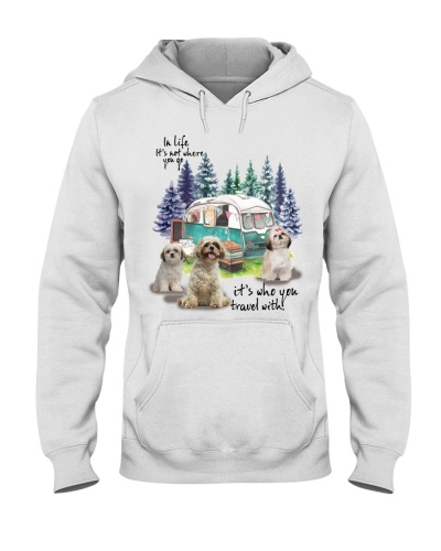 Shihtzu it's who you travel with