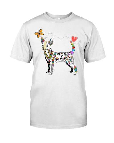 dt 7 chihuahua zentangle rainbow 21520