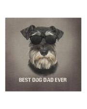 Schnauzer Best Dog Dad Ever Cloth face mask aos-face-mask-coverlet-lifestyle-front-02