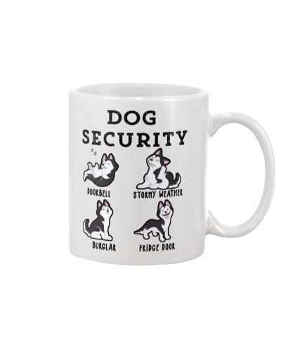 Siberian husky security