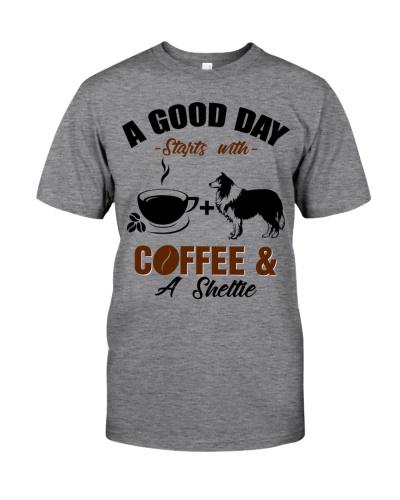 Sheltie A Good Day