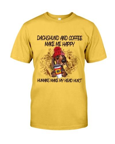 Dachshund and coffee boombayah