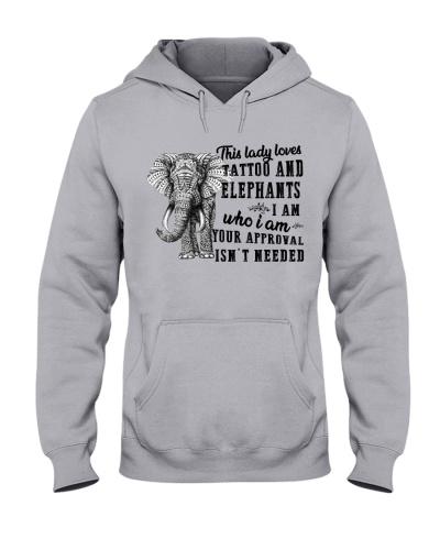 Elephants and tattoo