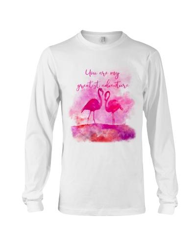 Flamingo Are My Greatest Adventure