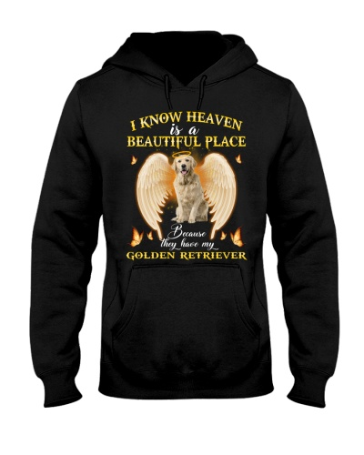 Golden Retriever heaven is a beautiful place