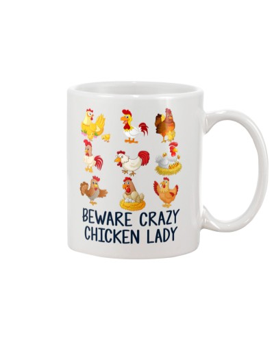 Chicken lady beware mug