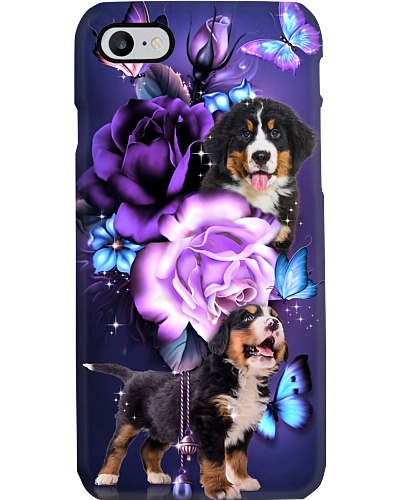 Bernese mountain magical phone case