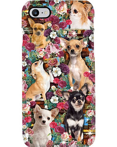 Chihuahua Love Book Phone Case