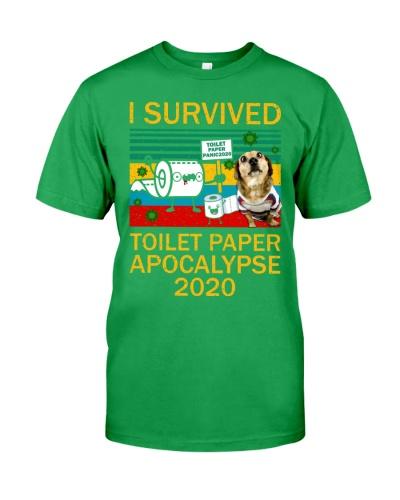 Dachshund I Survived Toilet Paper