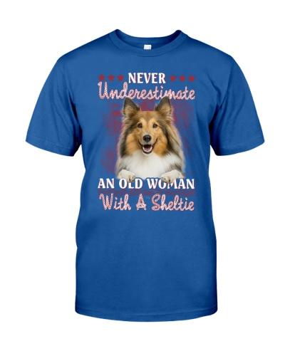 Sheltie never underestimate old woman