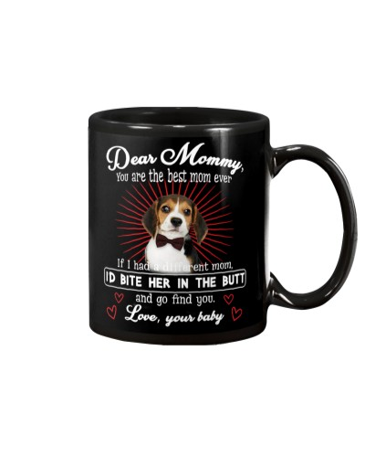Beagle Dear Mommy