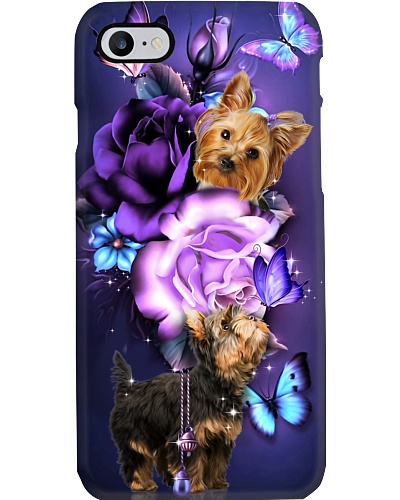 Yorkshire terrier magical phone case