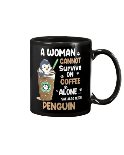 Penguin And Coffee