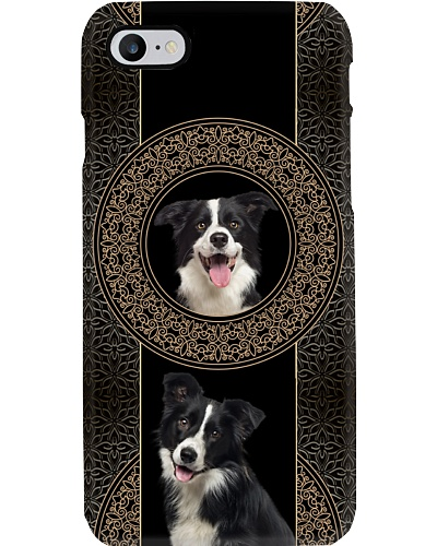 Border Collie In The Circle
