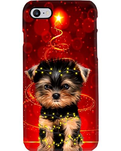 Yorkshire christmas light phone case