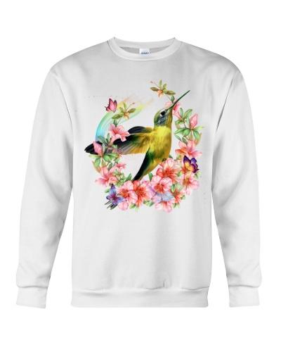 Humming bird special flower circle gift